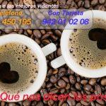 Lectura de los posos del café