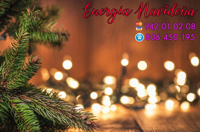 energía navideña
